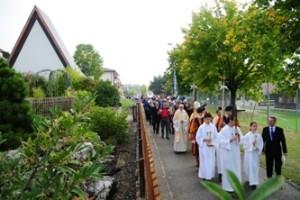 Procession à Begnins