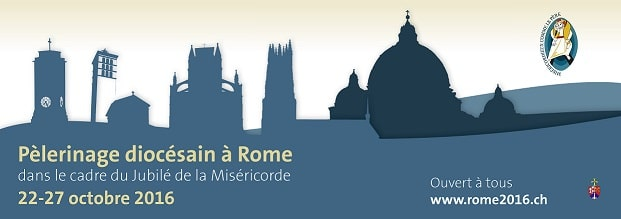 logo du pèlerinage à Rome