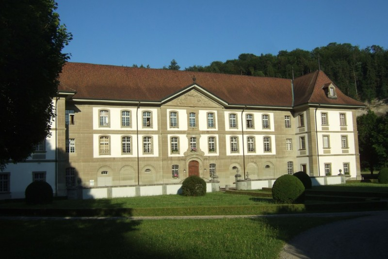 Pèlerinage des pères 2012, 4 : l'abbaye d'Hauterive où nous logeons le samedi soir