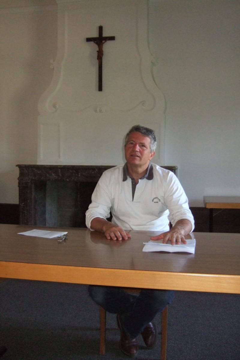 Pèlerinage des pères 2012 : M. Jean-Eudes Tesson, l'intervenant de ce pèlerinage
