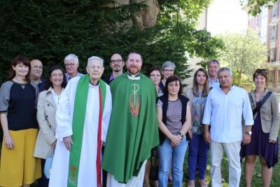 Une douzaine de jubilaires ont participé la fête organisée par le Vicariat en leur honneur.