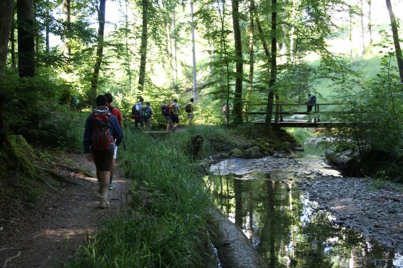 Pèlerinage des pères 2016 - 10 : les bords du Flon