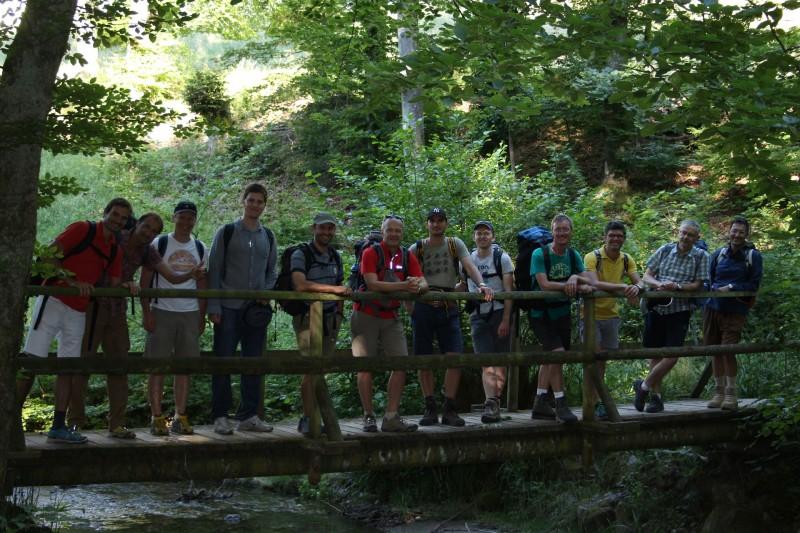 Pèlerinage des pères 2016 - 11 :  dans la vallée du Flon