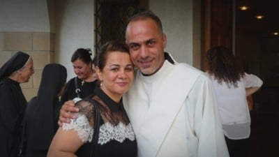 Naseem, ici avec sa femme Lusia, sera ordonné prêtre le 25 novembre 2017 | © DR