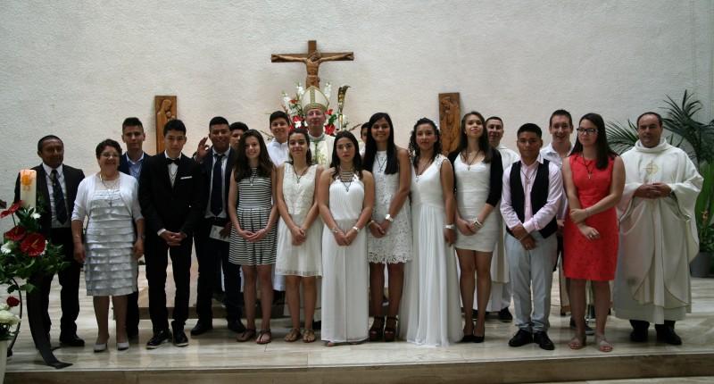 Grupo de Confirmación Lausana-Renens 2016