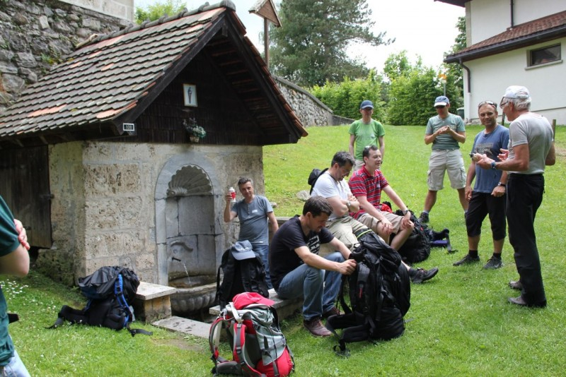 Pèlerinage des pères 2013 : Nous marchons sur le chemin de St-Jacques de Compostelle