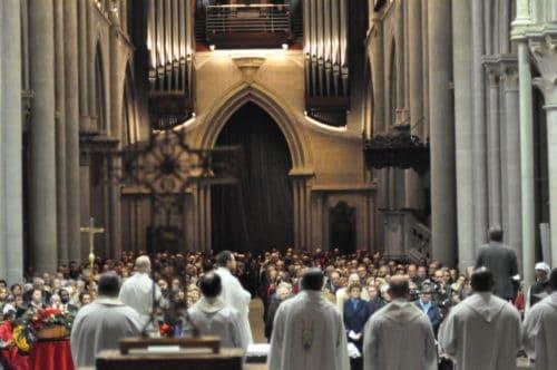 Messe à la cathédrale du 8.12.2018