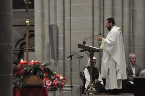 Messe à la cathédrale, 8.12.2018