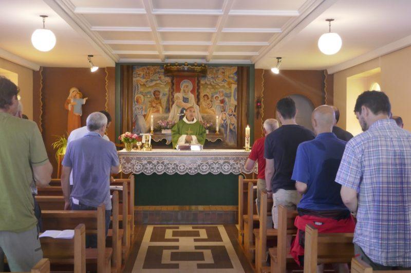 5. Célébration de l'Eucharistie dans la chapelle de Baulmes