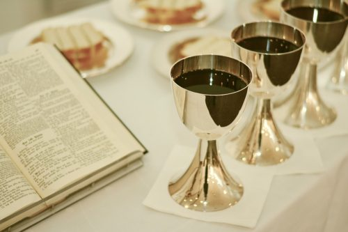 Celebration Of Holy Communion Worship Last Supper