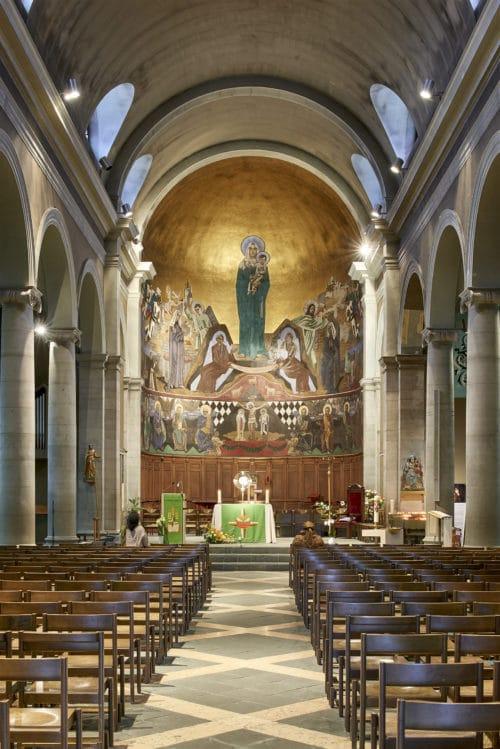 Le choeur de la Basilique Notre-Dame. © Rémy Gindroz