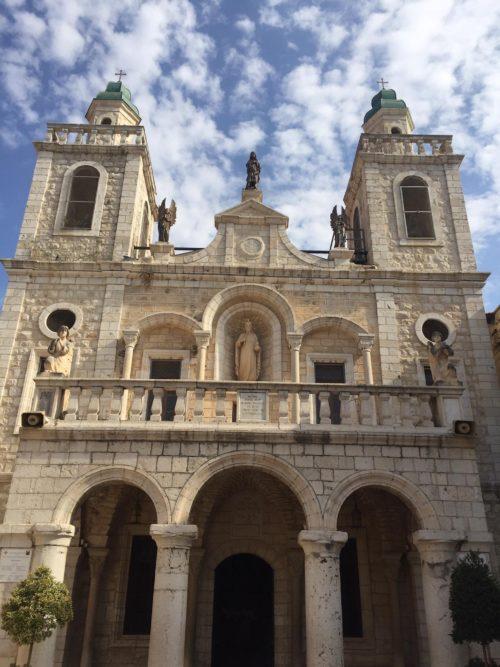 Eglise construite sur le lieu des Noces de Cana