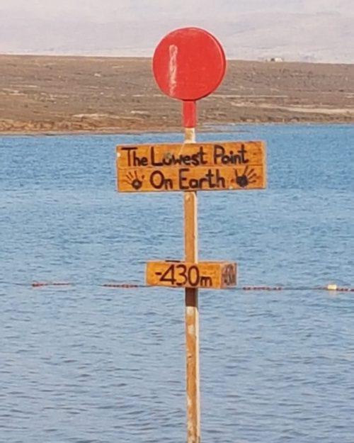 Le point le plus bas du monde
