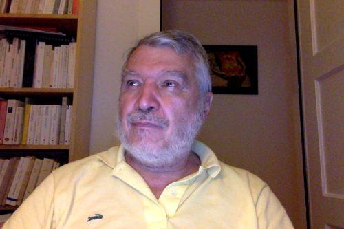 Patrice Mignon, théologien et ancien directeur financier, l'un des deux intervenants
