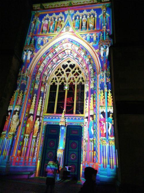 Le portail Montfalcon, halte incontournable de Lausanne-Lumières