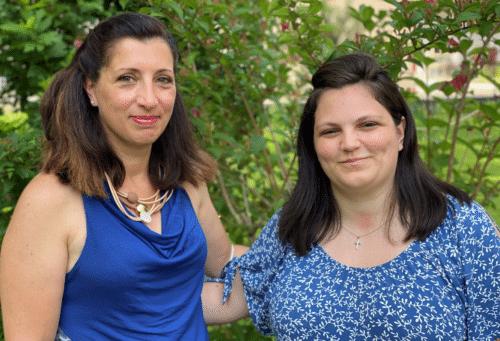 Maria Chiara Fasani (gauche) et Morgana Delore (droite) sont les nouvelles diplômées vaudoise du CCRFE.